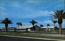 Visitor Information Center, Kennedy Space Center, Florida. N.A.S.A Postcard