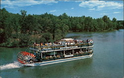 """River Queen"" - Scenic Boat on the Au Sable River"