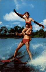Skiing is Fun in the Florida Sun - Cypress Gardens