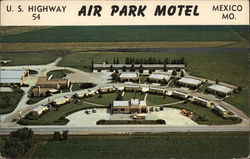 Air Park Motel Postcard