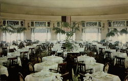 The Circular Dining Room at the Hershey Hotel