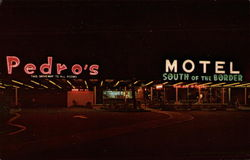 Pedro's Motel, South of the Border
