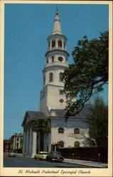 St. Michael's Protestant Episcopal Church Postcard