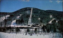 Lift Line and Ski Trails