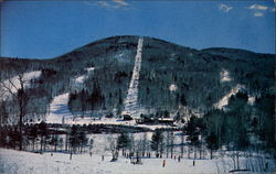 Lift Line & Ski Trails