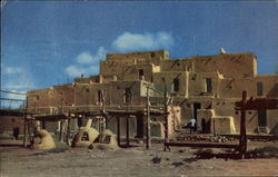 Indian Pueblo, Northern New Mexico Postcard
