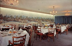 The Mystic Dining Room, Forsgate Country Club Postcard