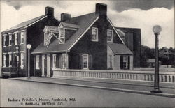 Barbara Fritchie's Home