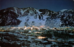 Aspen Colorado at Night