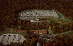 Aerial View of Accommodations in Mammoth Cave National Park