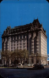 The beautiful Fort Garry Hotel Postcard