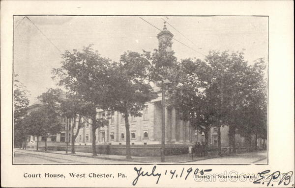 Court House West Chester Pennsylvania