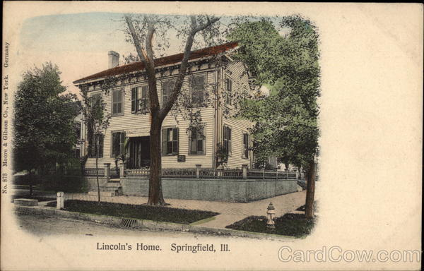 Lincoln's Home Springfield Illinois