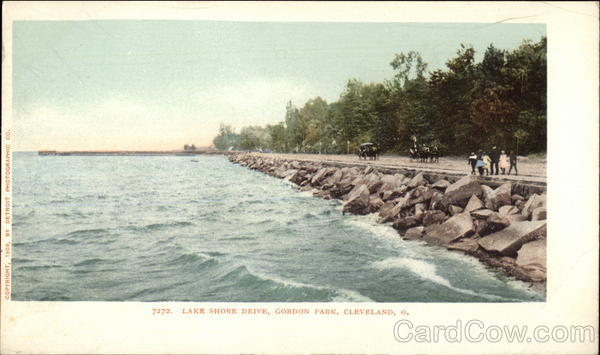 Lake Shore Drive, Gordon Park Cleveland Ohio