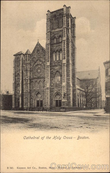 Cathedral of the Holy Cross Boston Massachusetts