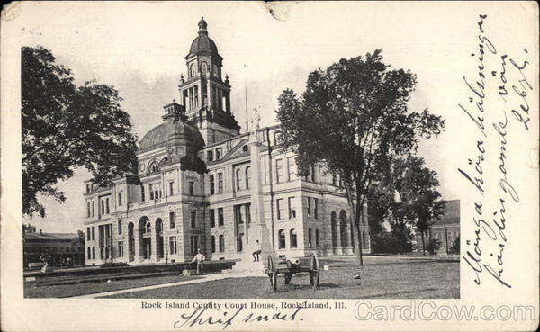Rock Island County Court House Illinois