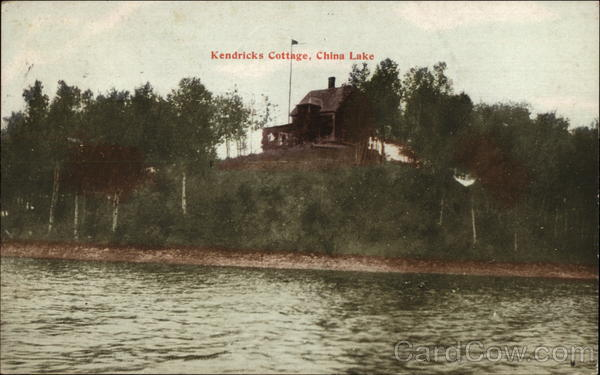 Kendricks Cottage, China Lake Maine
