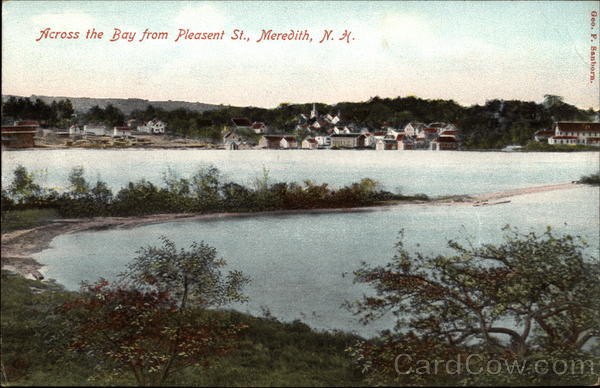 Across the Bay from Pleasent Street Meredith New Hampshire