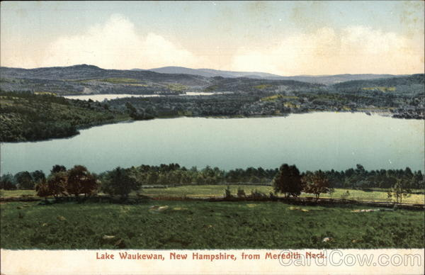 Lake Waukewan from Meredith Neck New Hampshire