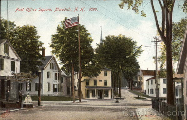 Post Office Square Meredith New Hampshire