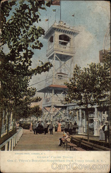 Gladys' Chime Tower Coney Island New York