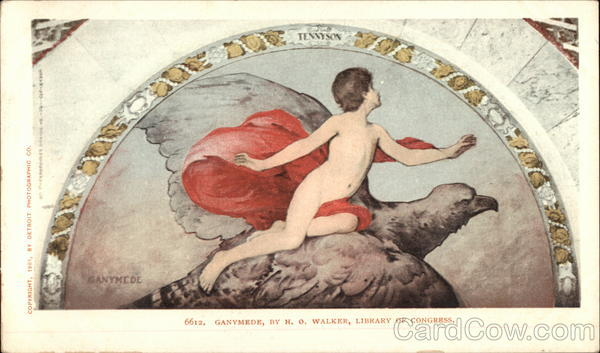 Ganymede,by HO Walker, Library of Congress Washington District of Columbia
