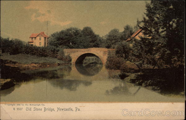 Old Stone Bridge Newcastle Pennsylvania