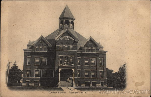Central School Cortland New York