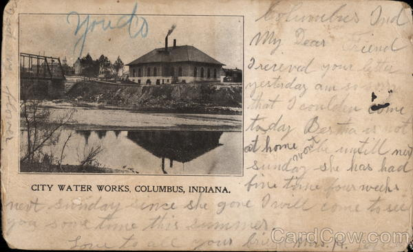 City Water Works Columbus Indiana