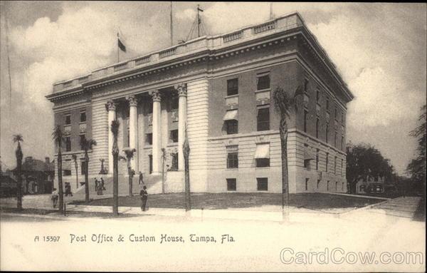 Post Office & Custom House Tampa Florida