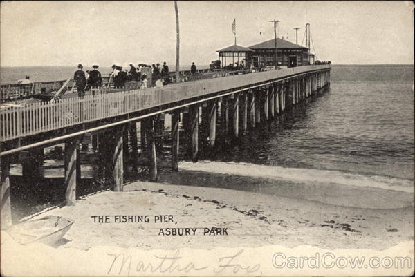 The Fishing Pier Asbury Park New Jersey