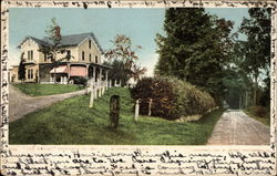 Residence of Mrs. J. C. Dorr