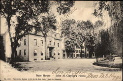State House, John M. Cleyton's Home