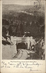 West Portal Hoosac Tunnel Postcard