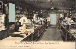 Interior View of Sanborn's Drug and Variety Store