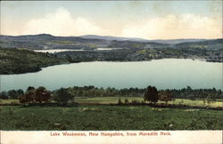 Lake Waukewan from Meredith Neck