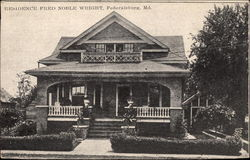 Residence of Fred Noble Wright