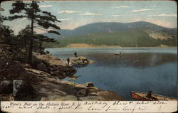 Crow's Nest on the Hudson River Postcard