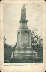 Hannah Dustin Monument Postcard