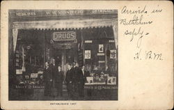 W. W. Mosher Drug Store