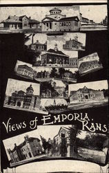 Views of Emporia Photo Collage