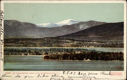 Mt. Washington from Lake Winnipesaukee
