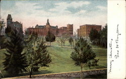 Worcester Polytechnic Institute Postcard