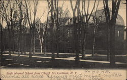 State Normal School from Church St
