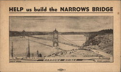 Help Us Build the Narrows Bridge