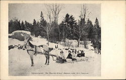 Tobogganing, The Pontiac Girls'