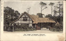 "The ""Lodge"" at Entrance ""Seawood"" Postcard"