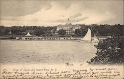 View of Thousand Island Park Postcard
