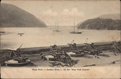 "West Point - Hudson River - On the ""New York Central"""