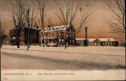 City Hospital and nurses home